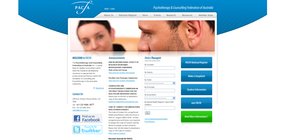 Online sex counselling in Australia